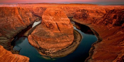 Horseshoe Bend by Sunrise
